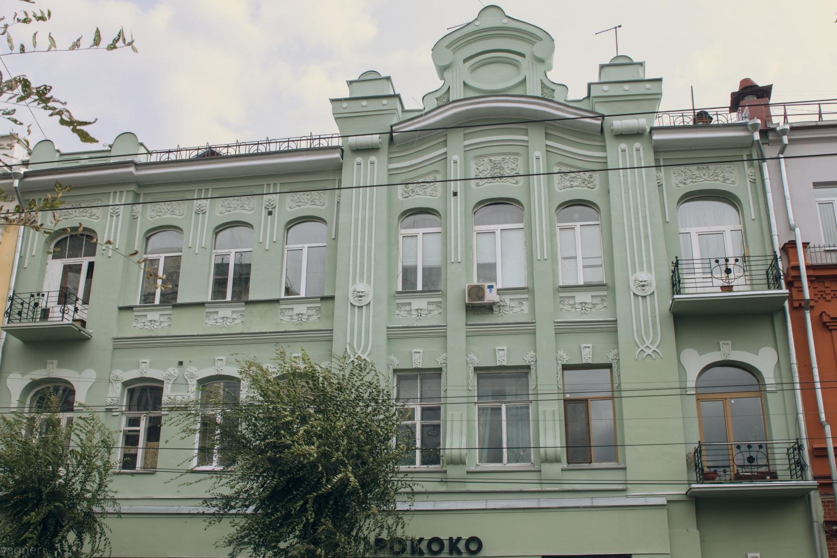 Дом Сибиряковой