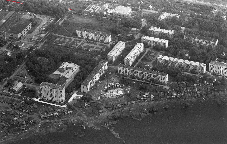 Улица Заводская1990