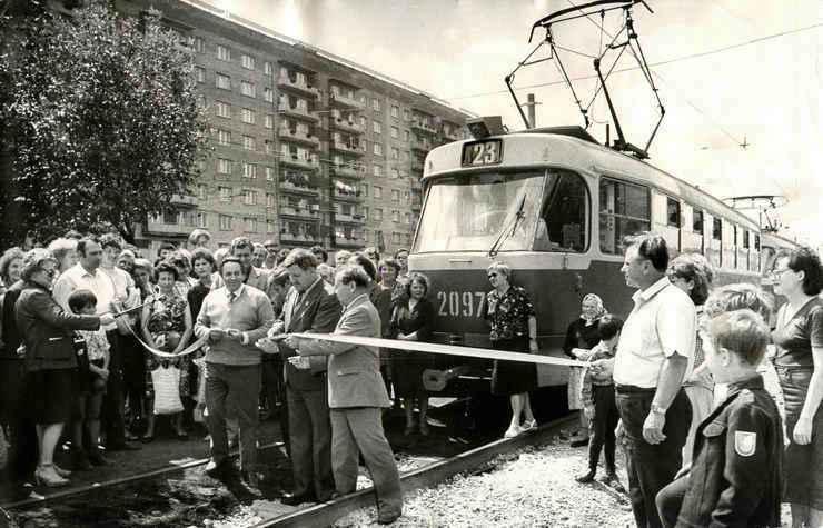 Булкина-ФОТО-31-Куйбышев-1986-трамвай по АО