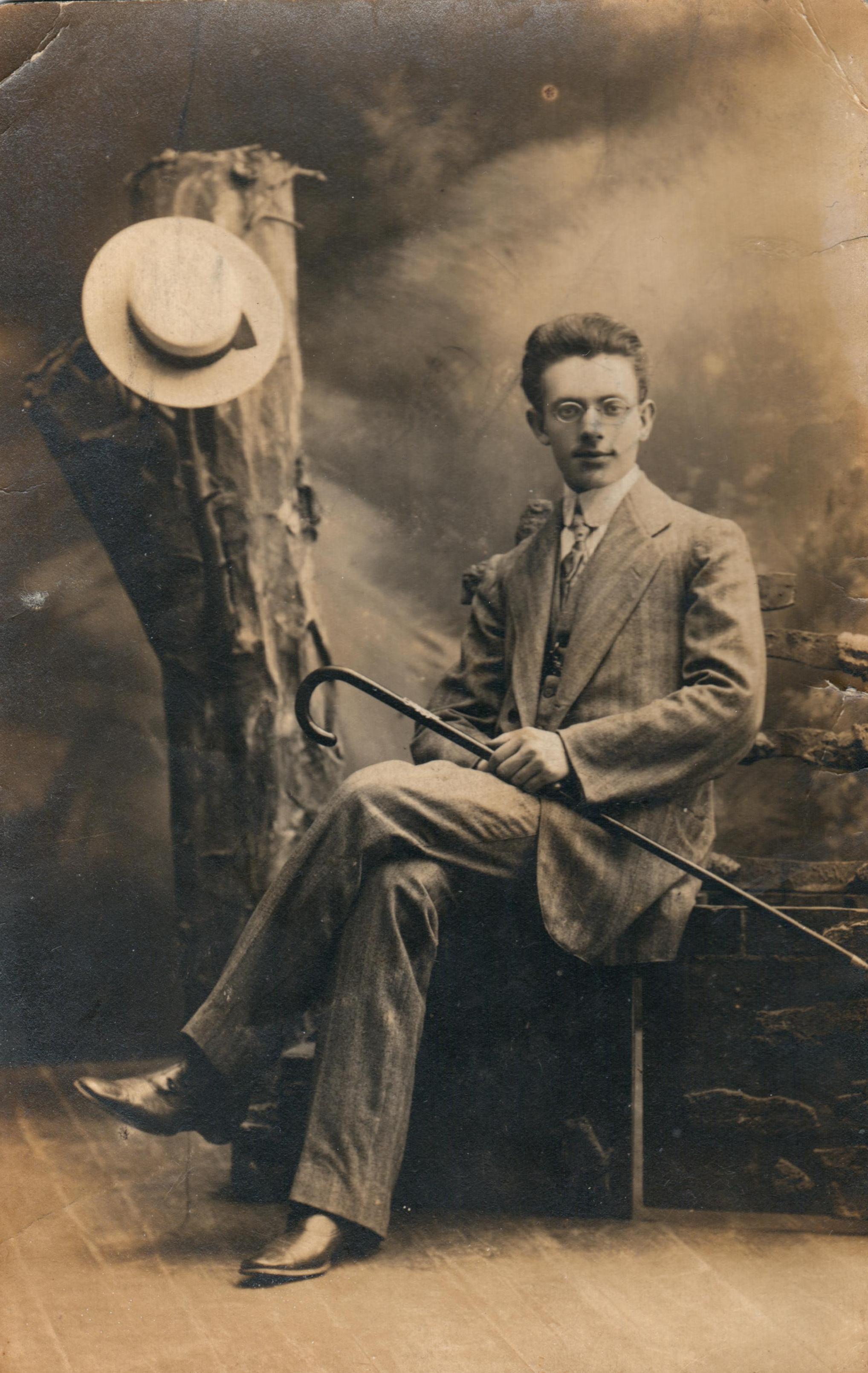 Мой прадед, Лев Овсеевич Натанзон. Белосток, 1912 год