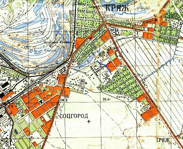 Куйбышевский район. 1970