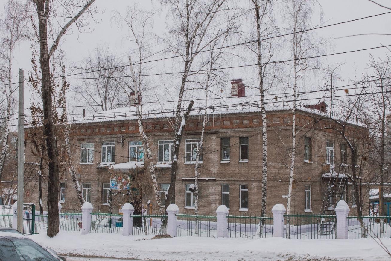 Переулок Карякина. Детский сад