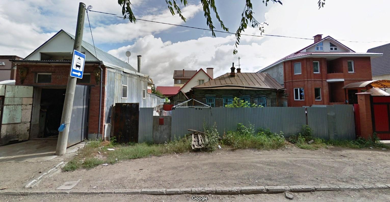 Улица Калинина. Город-сад