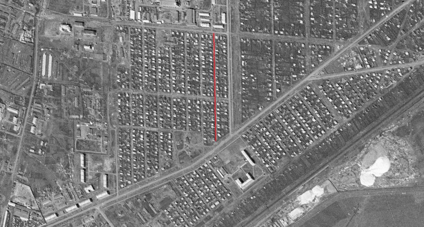 Улица Каменная.1965