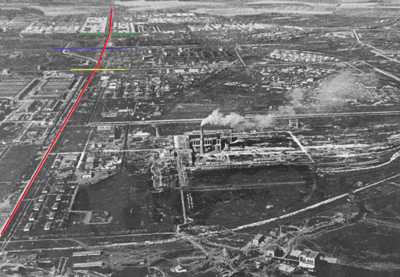 Кировское шоссе в 1941 г.
