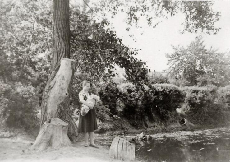 Озеро в Первомайском саду