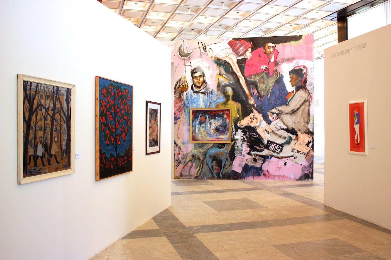 Течения. Фото с выставки.