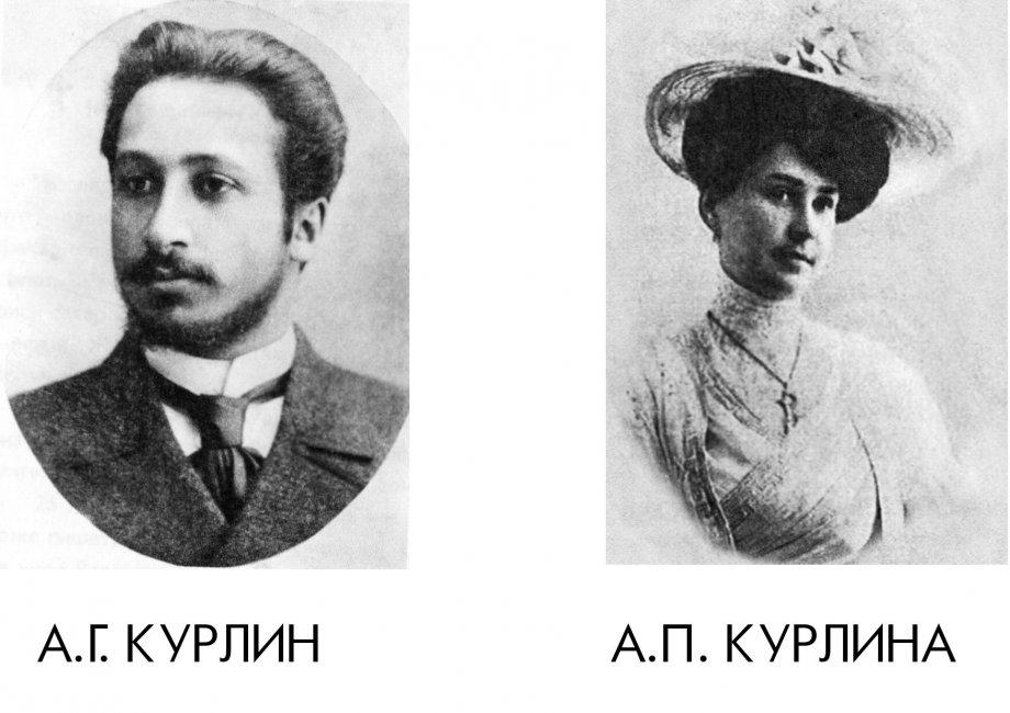 Александр Курлин и Сандра Курлина