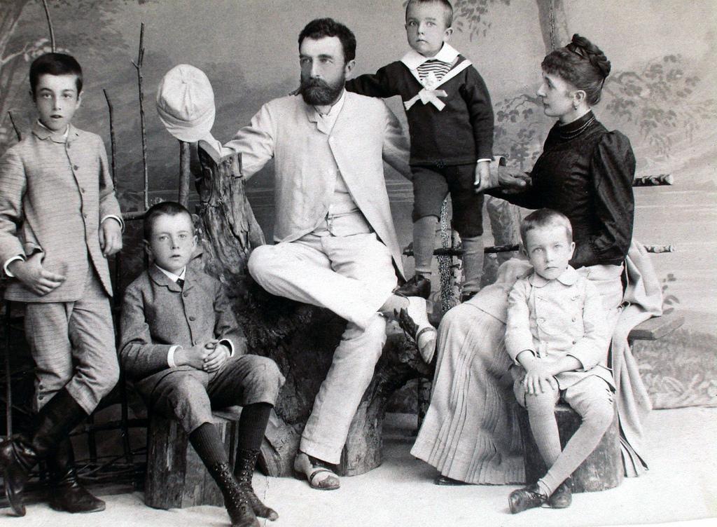 Альфред фон Вакано и Мария Баредер