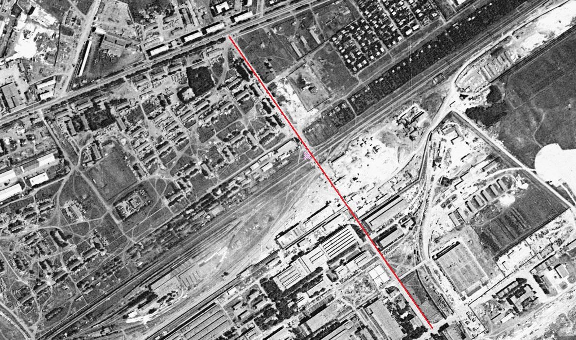 Карта 1966 год