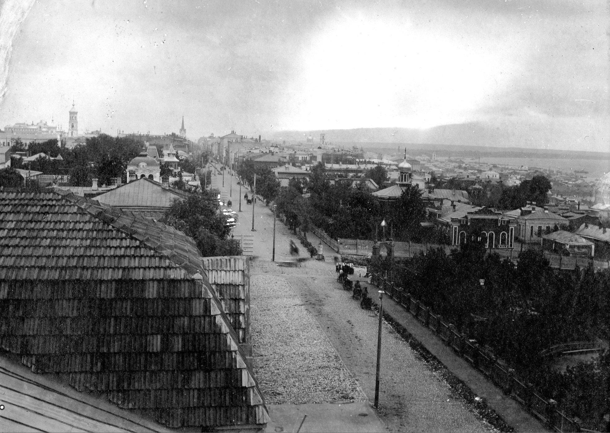 Вид на улицу Дворянскую в Самаре