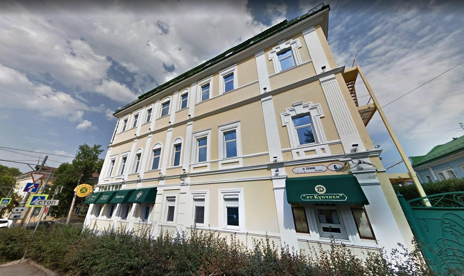 Кутякова 6 -- Дом купчихи Шадриной
