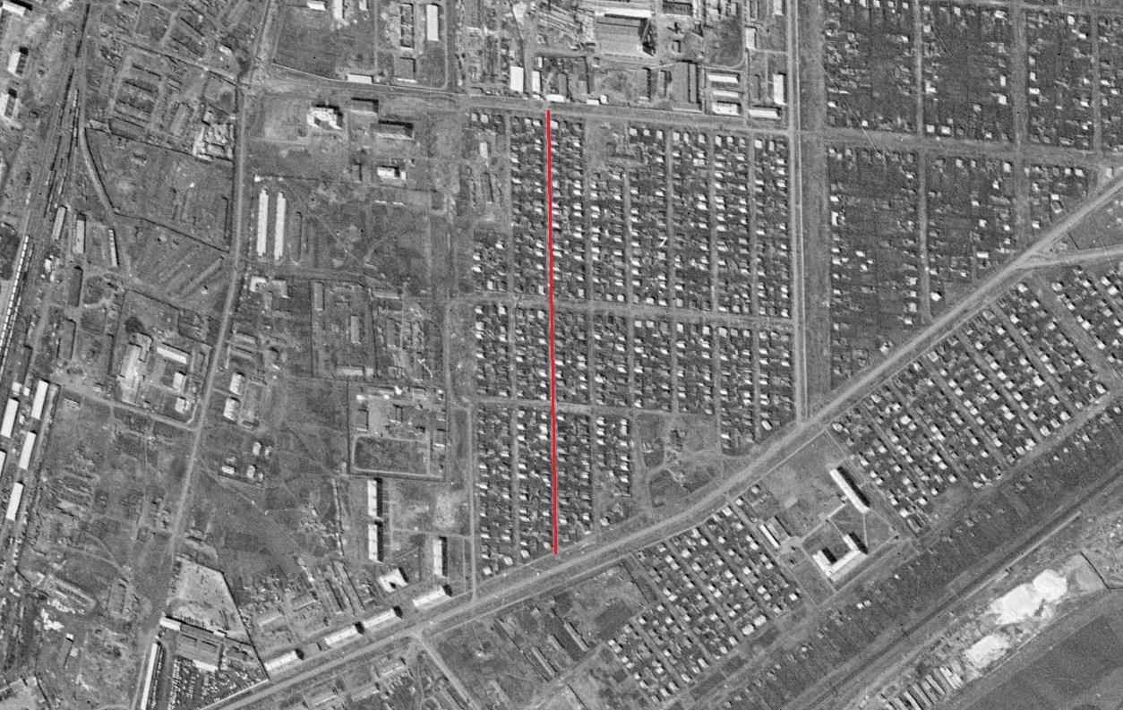 Улица Курская1965