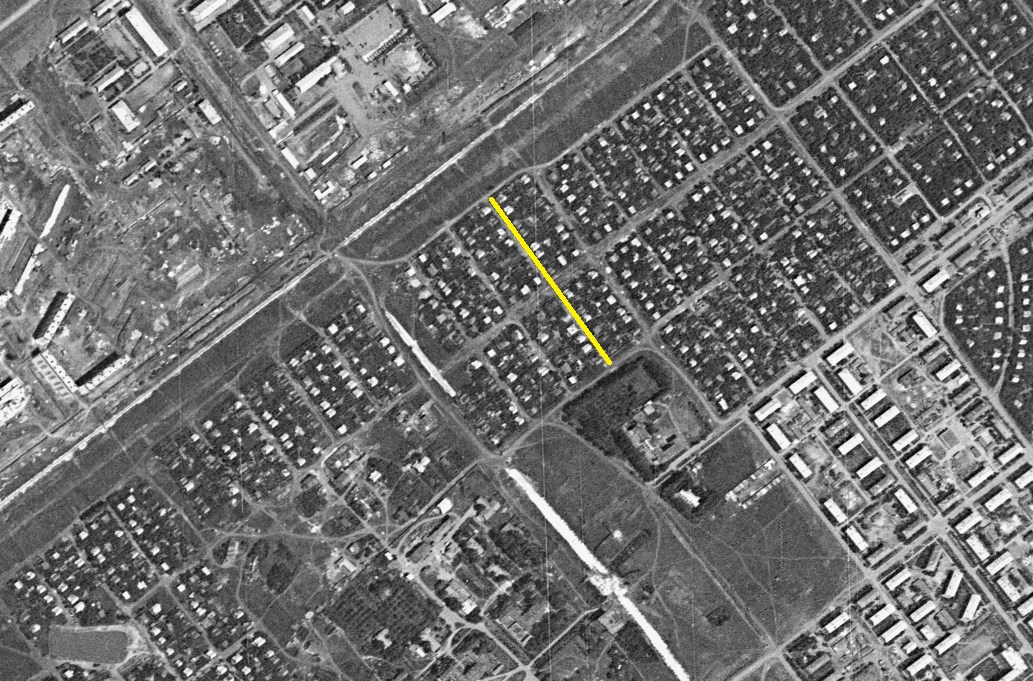 Улица Лагерная1966