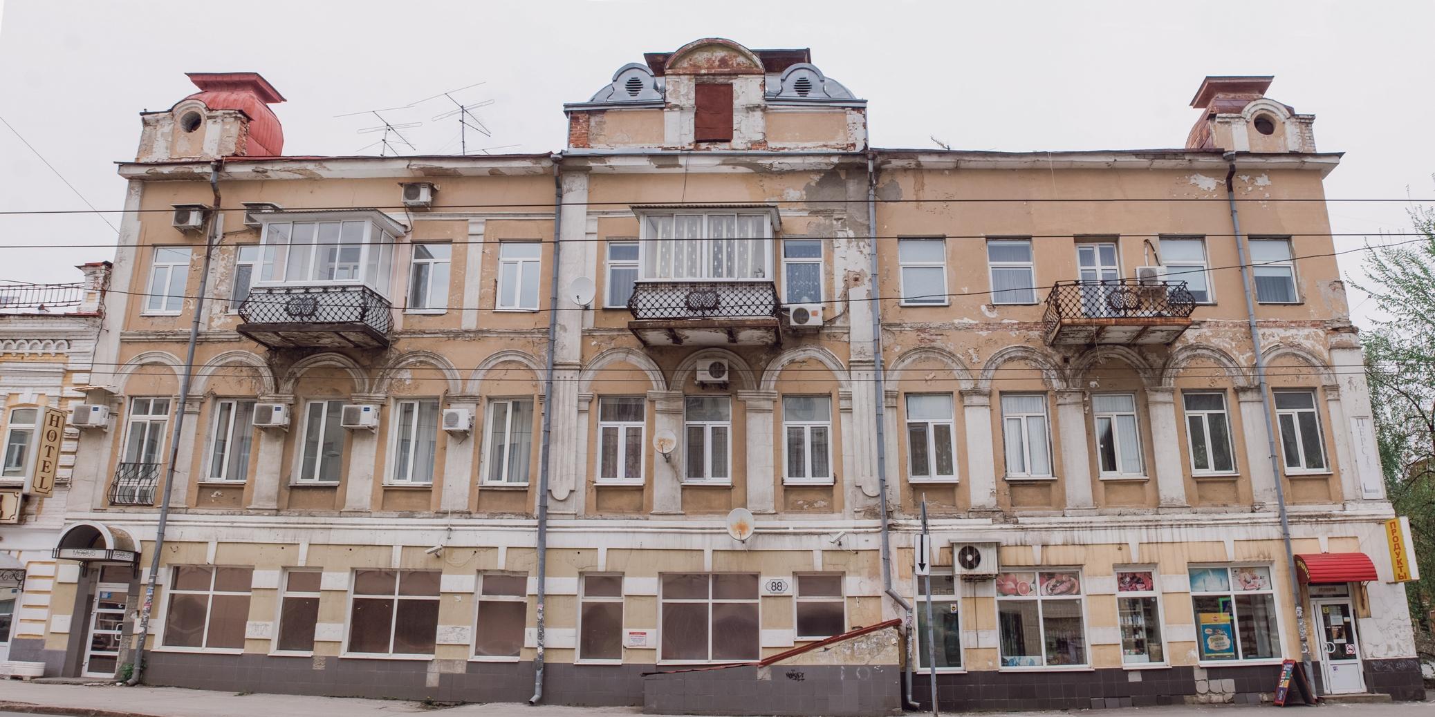 Дом Анны Павловны Лавровой