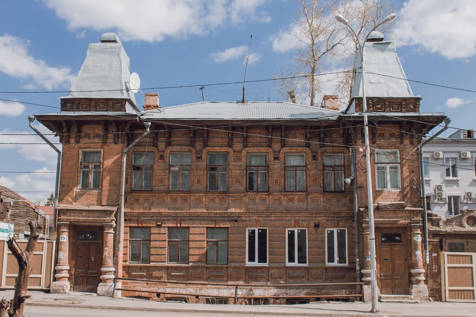 Дом городского головы Сергея Пермякова