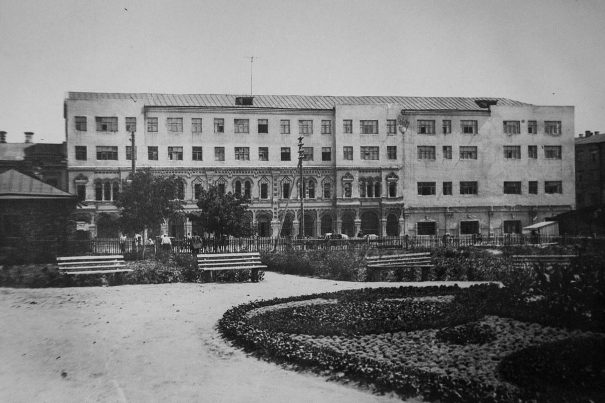 Общежитие для студентов, 1940-е