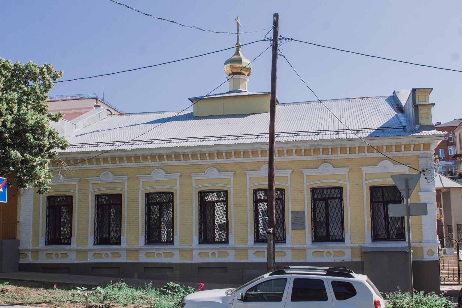 Любимовская церковь поморцев