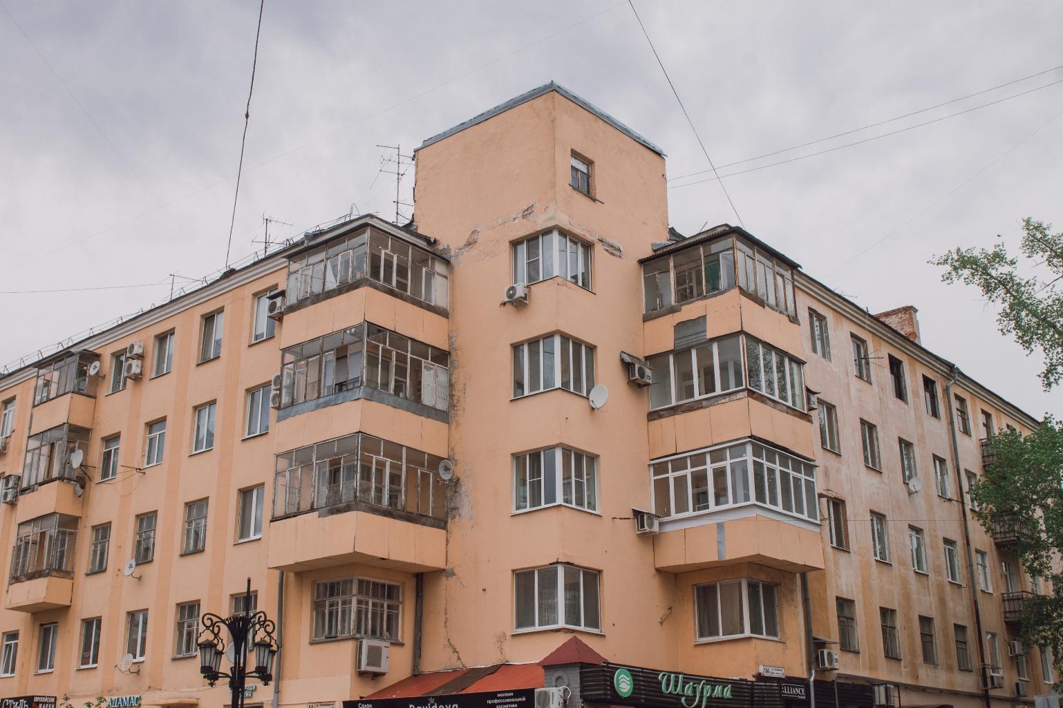 Общежитие ОГПУ