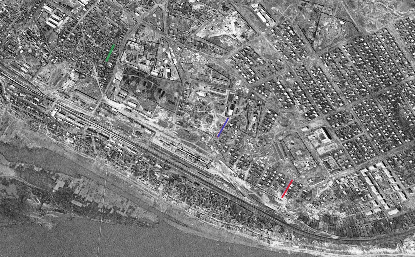 Железнодорожный район. 1965 год