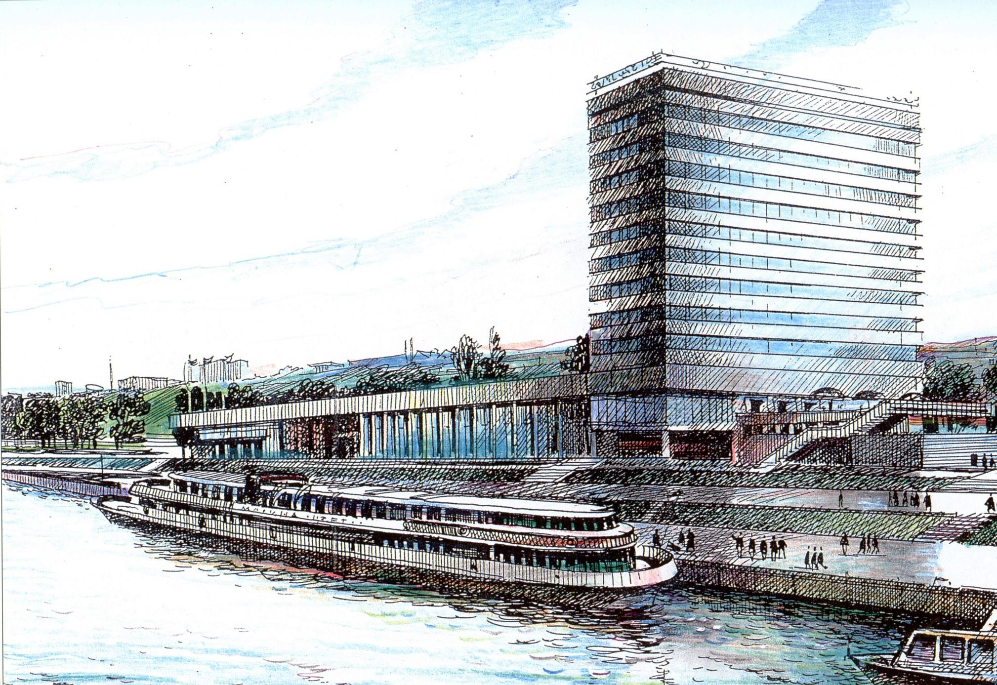 Здание Самарского речного вокзала