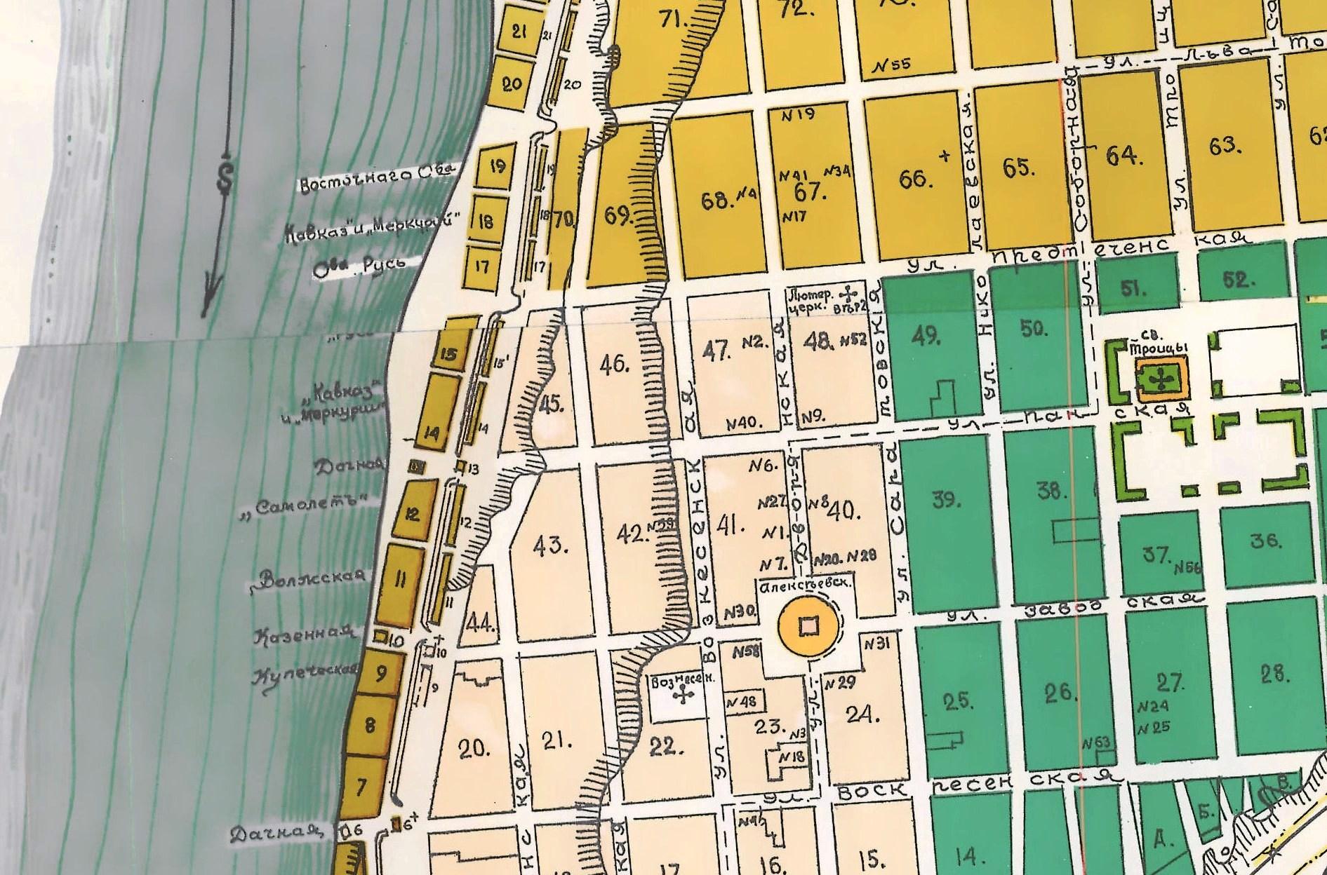 Карта Самары 1910 года (2)
