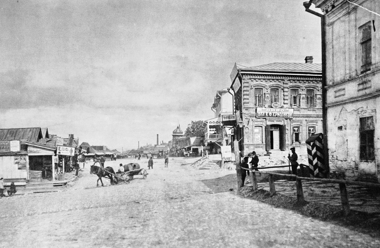 Угол улиц Венцека и Набережной
