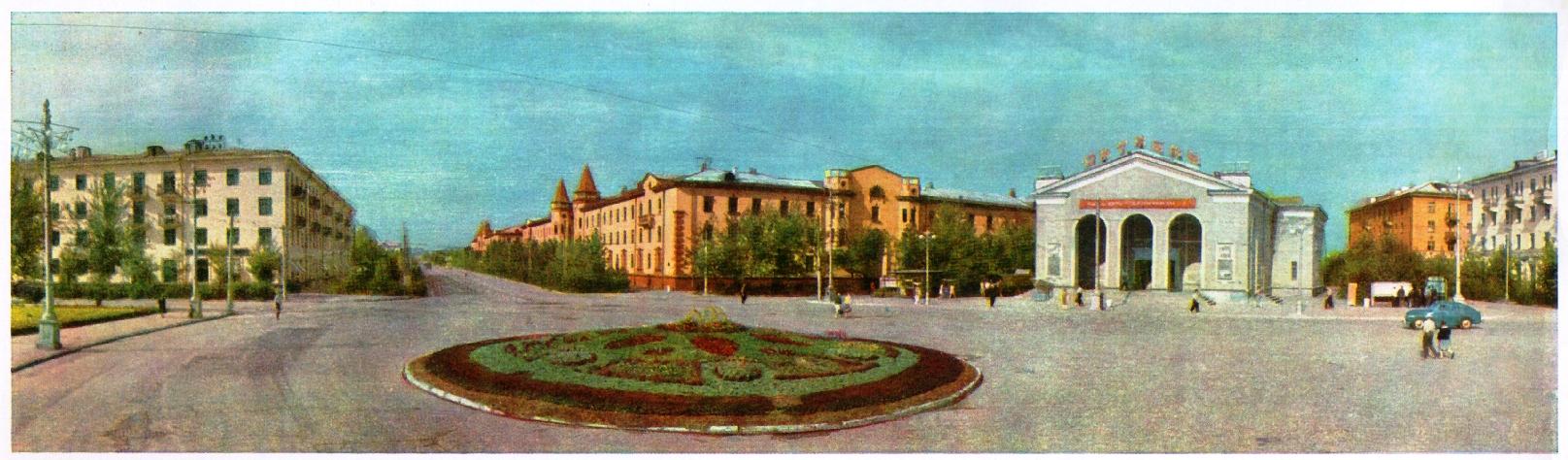 Вид на проспект Металлургов