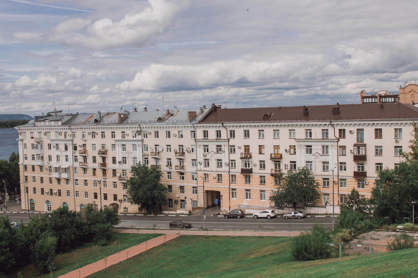 Жилой дом управления МВД (Маяковского, 2)