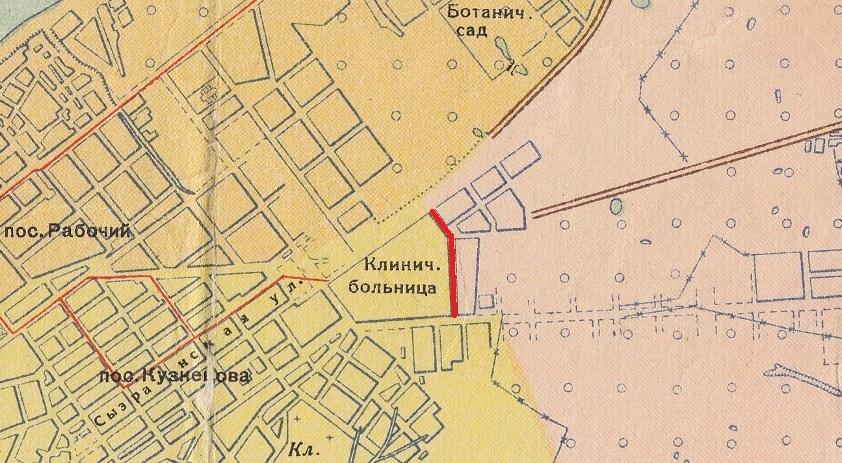 Проезд Митирева в Куйбышеве