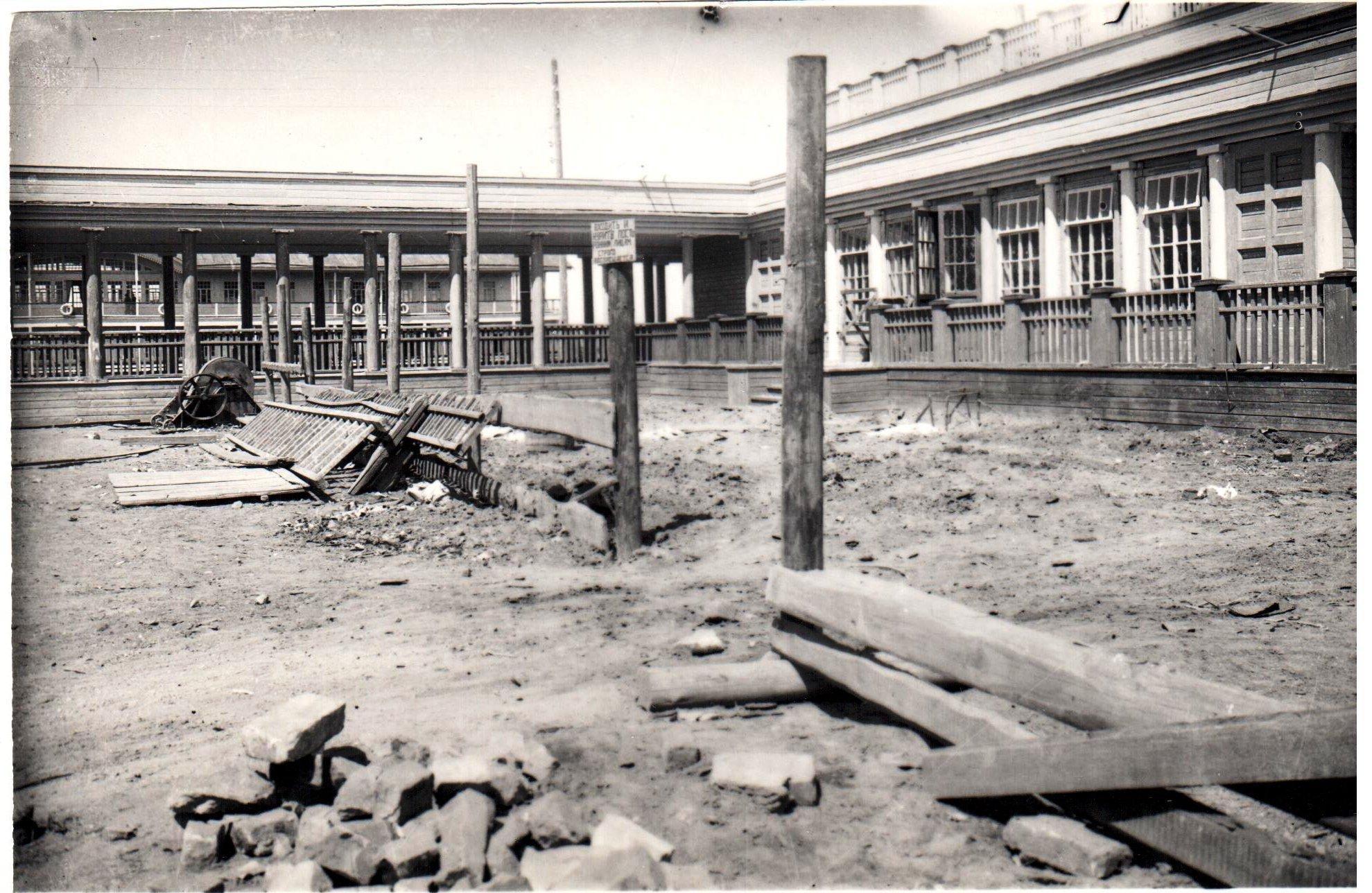 Строительство деревянного рчепорта в Самаре