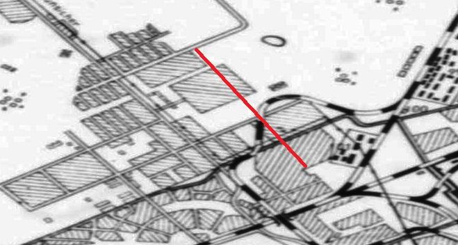 Схема Куйбышева 1943 год