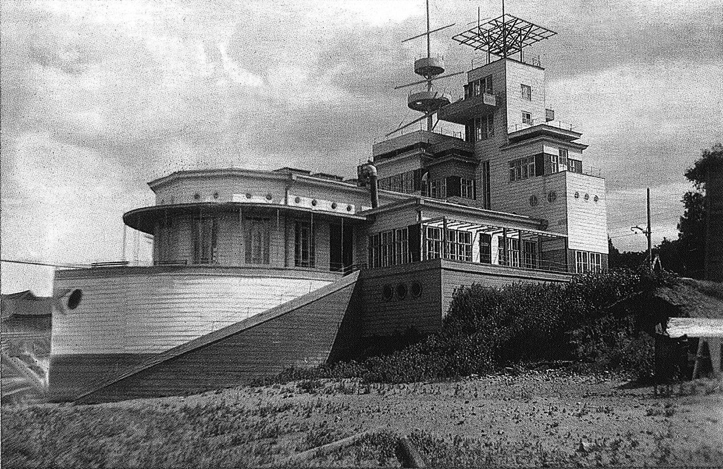 Яхт-клуб на берегу Волги
