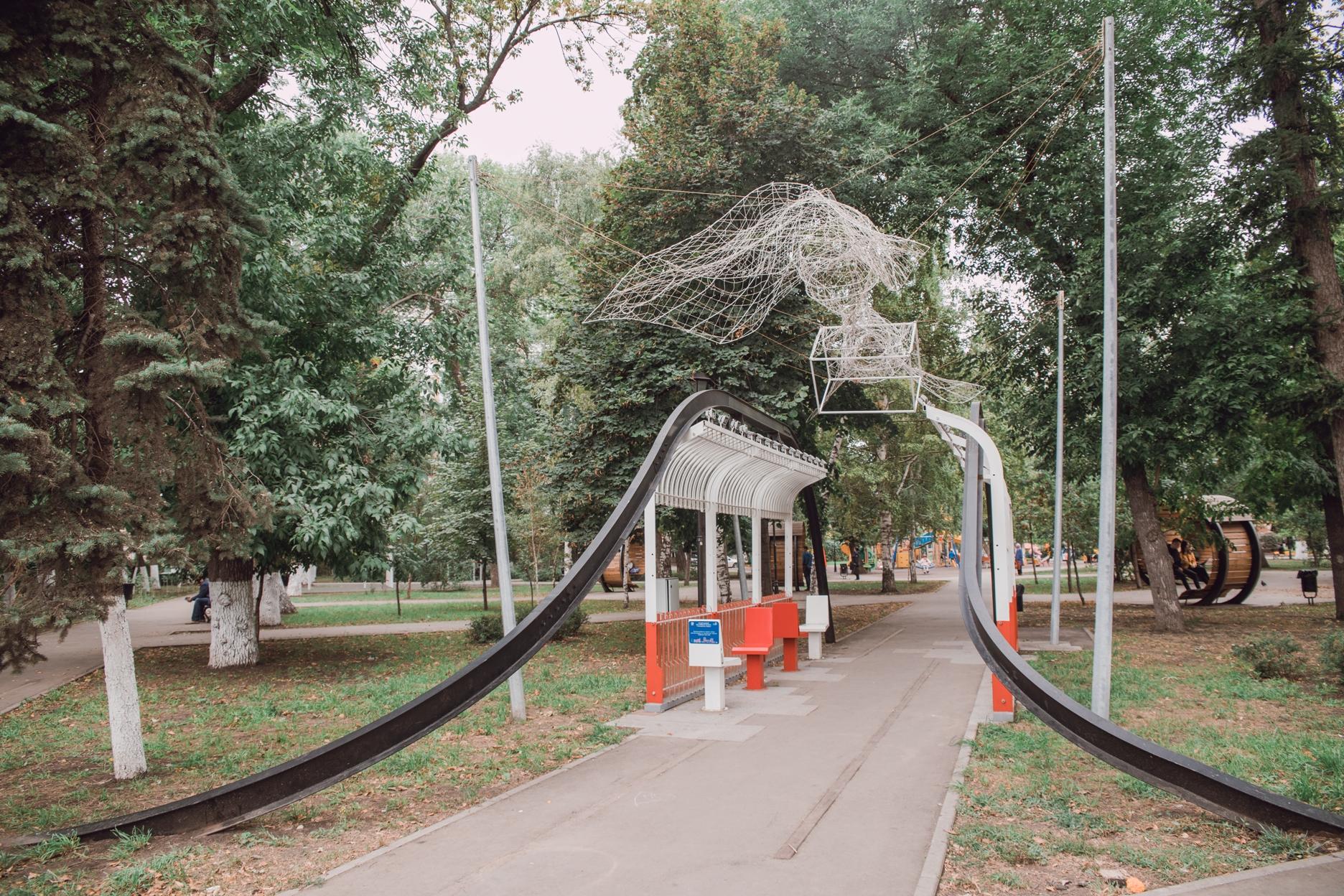 Обновленный сквер Мичурина