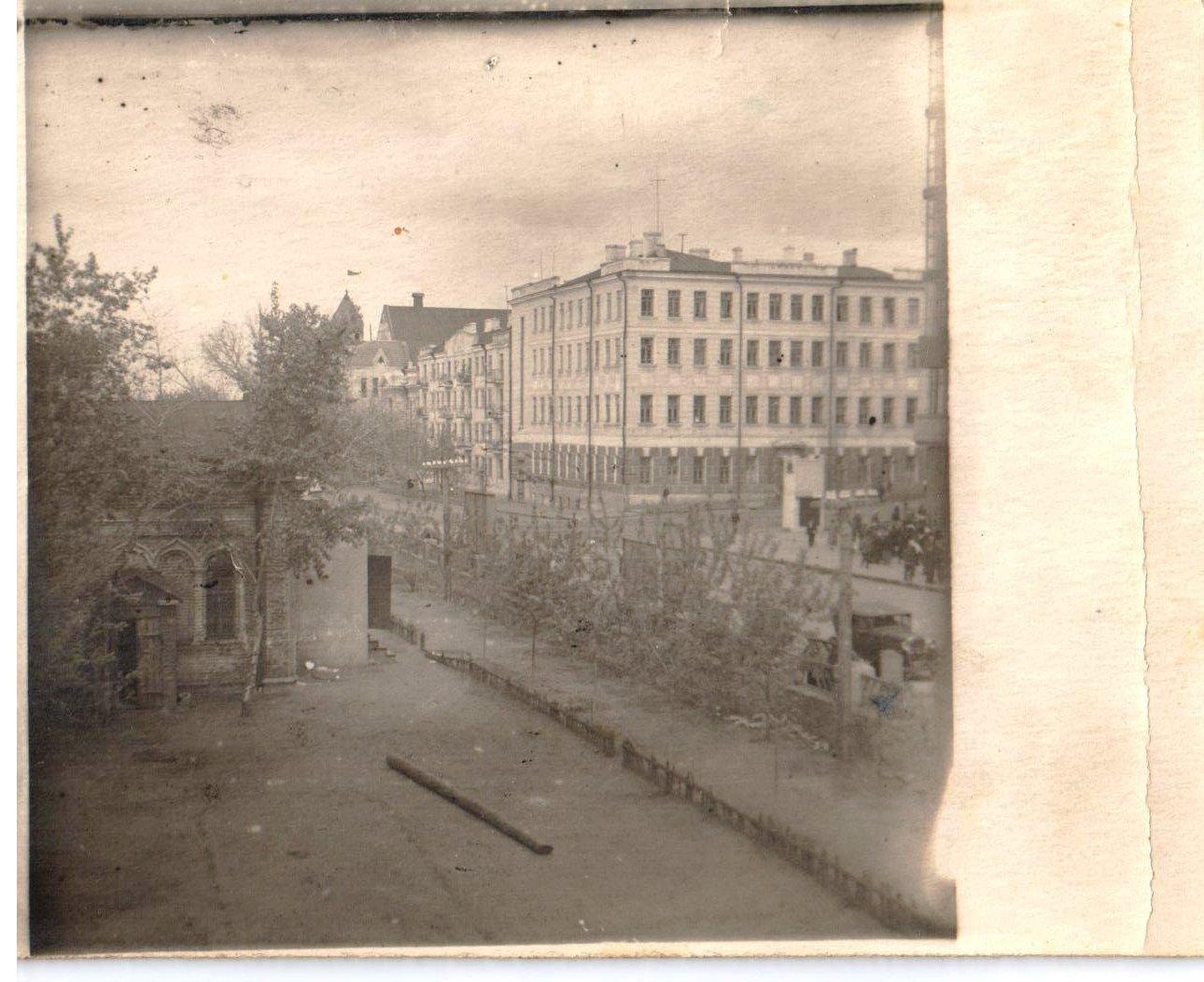 Территория Николаевского приюта