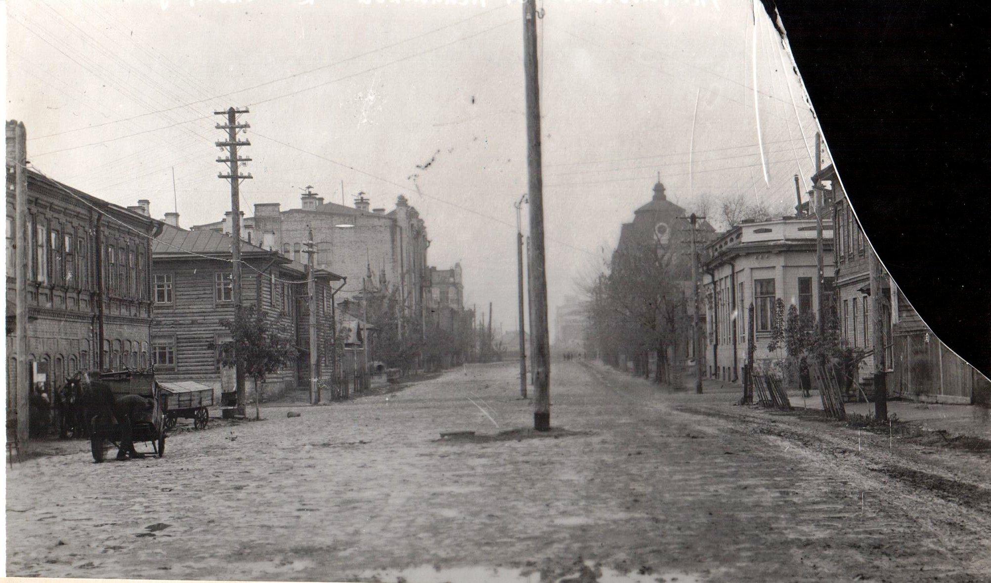 Угол улиц Рабочей и Садовой