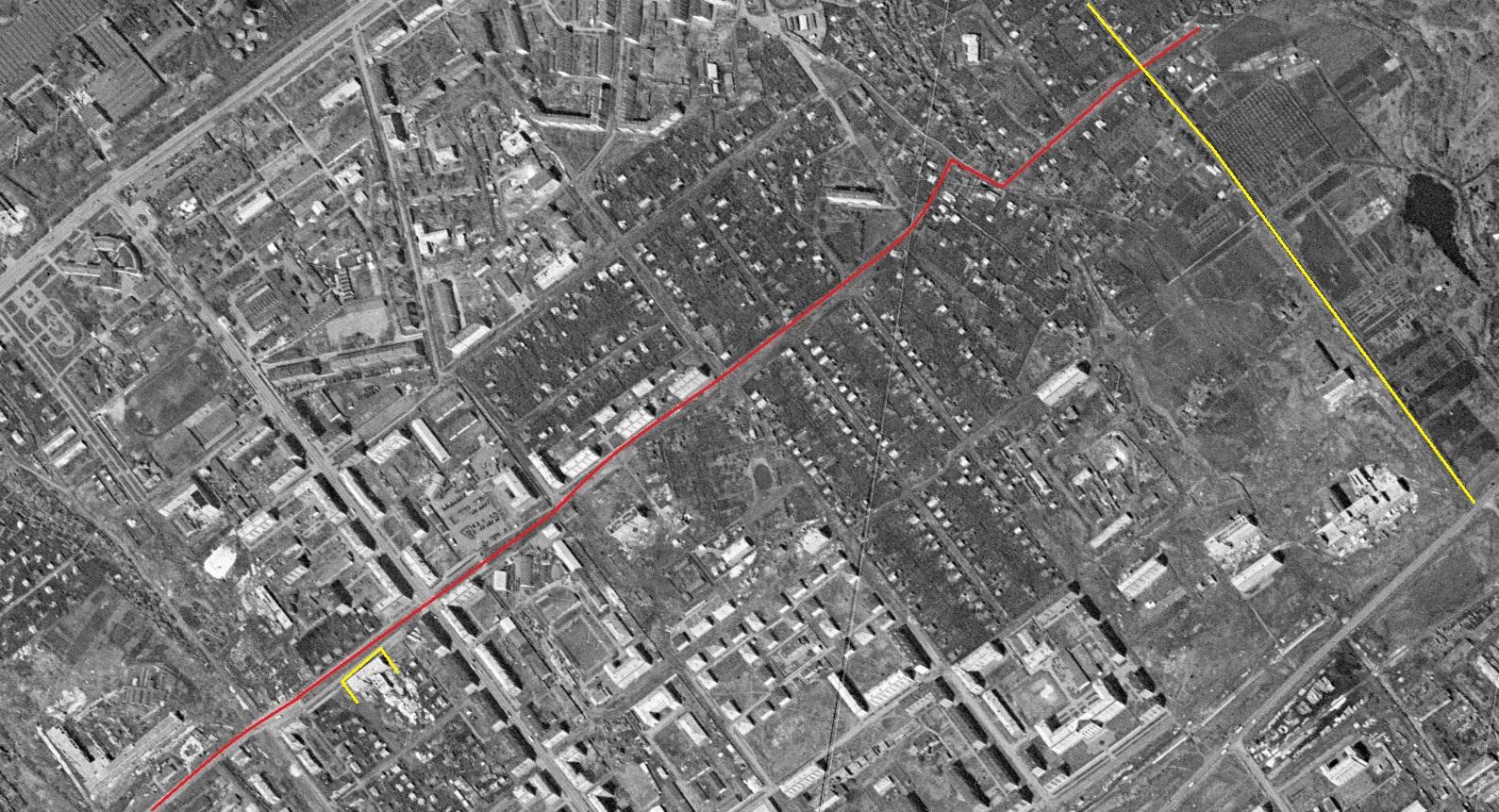 Улица Мичурина в 1965 году. Часть 2