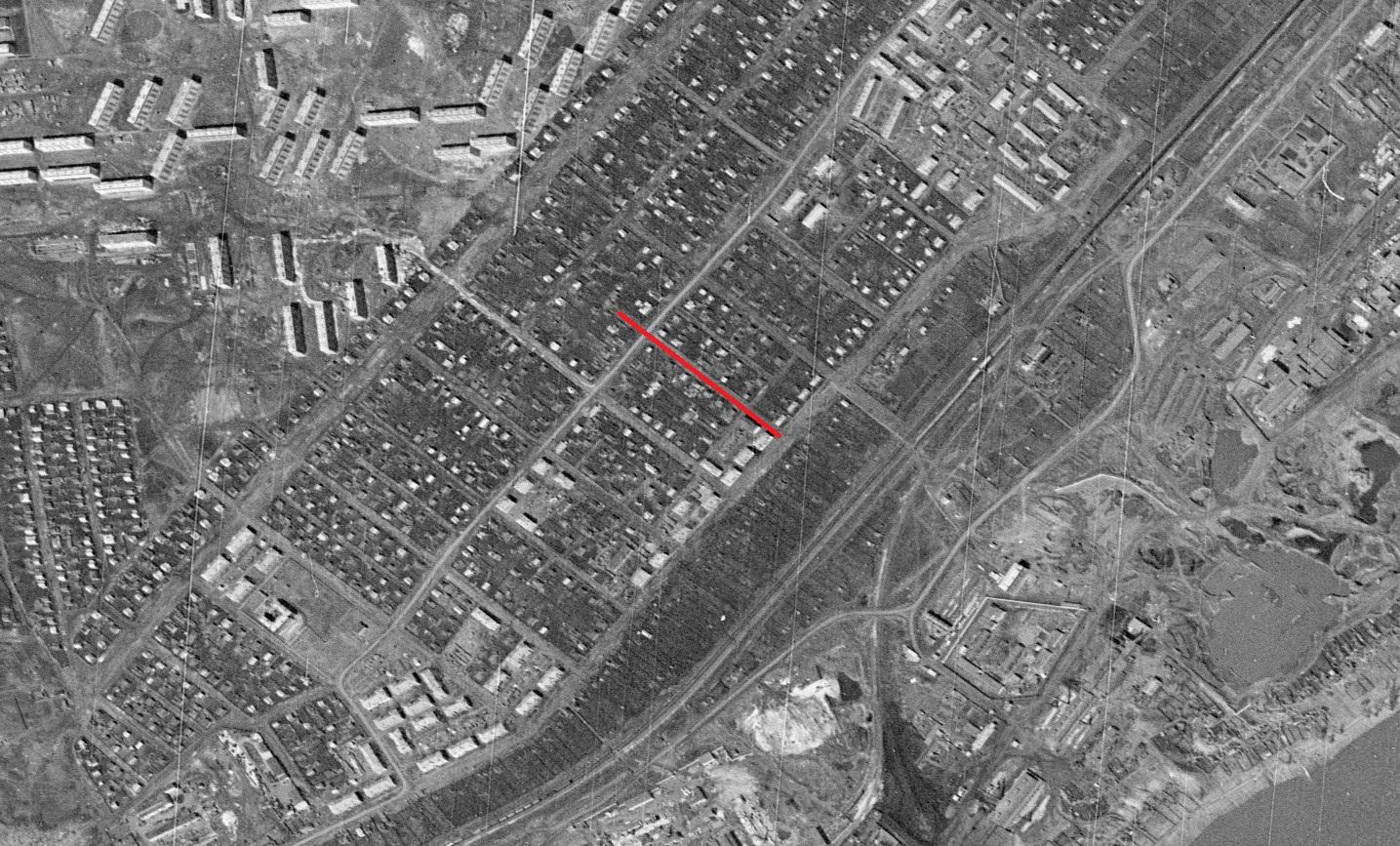 Улица Могилевская 1965 год