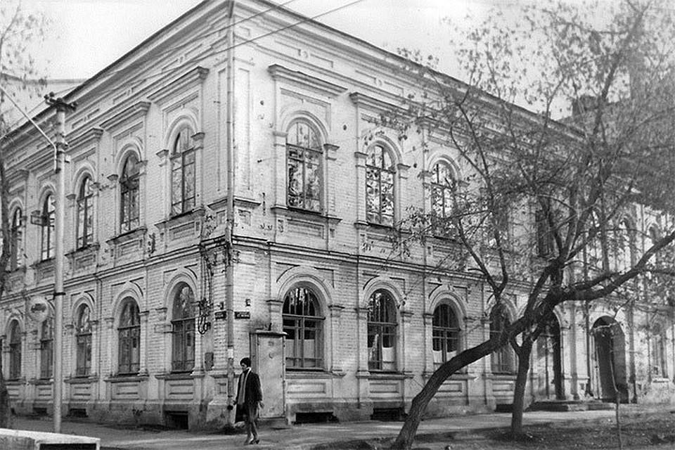здание КВД 70-е годы