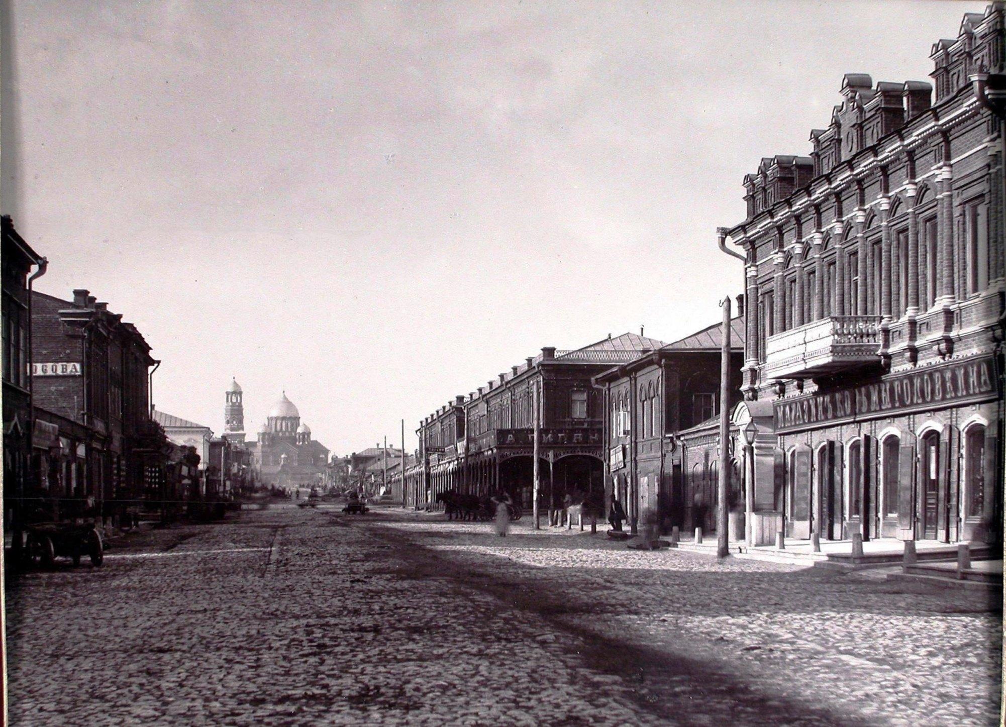 Вид по Молодогвардейской в сторону Ленинградской