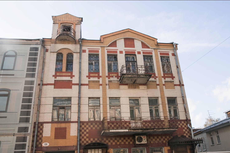 Дом Ивана Савельева