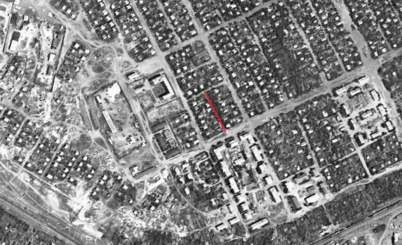 Мраморный переулок 1966 год.
