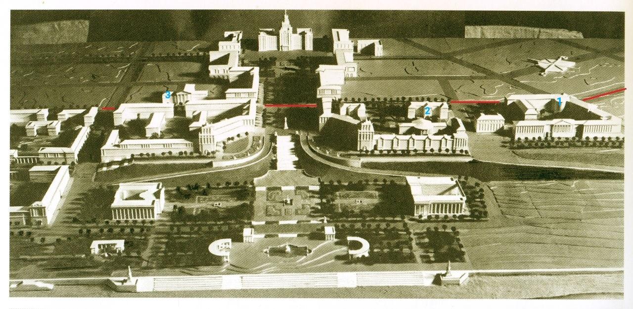 Планы застройки Самарской площади 1940-е
