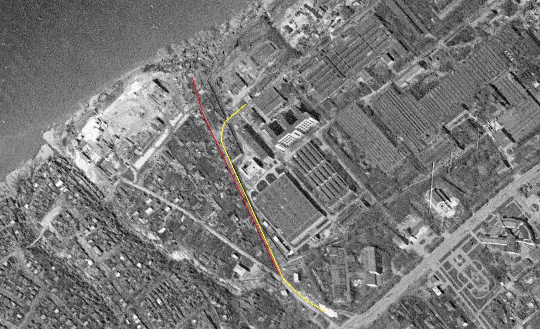 Улица Мусоргского 1965 год