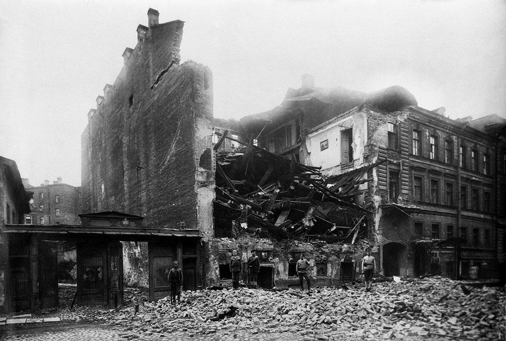 Взрыв в Леонтьевском переулке