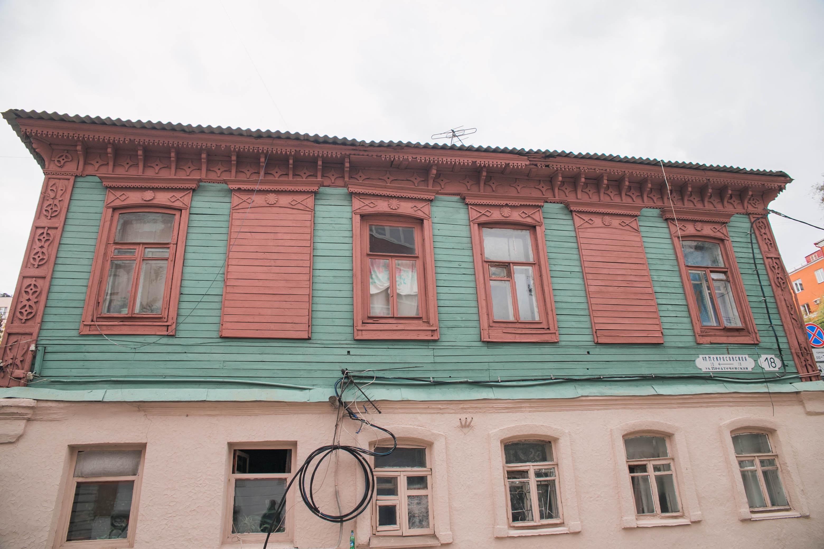 Дом на углу со Степана Разина