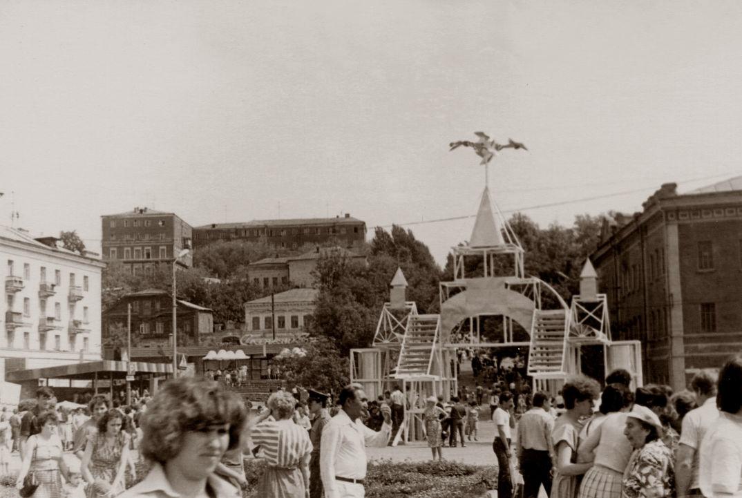 Некрасовский спуск в 1986 году