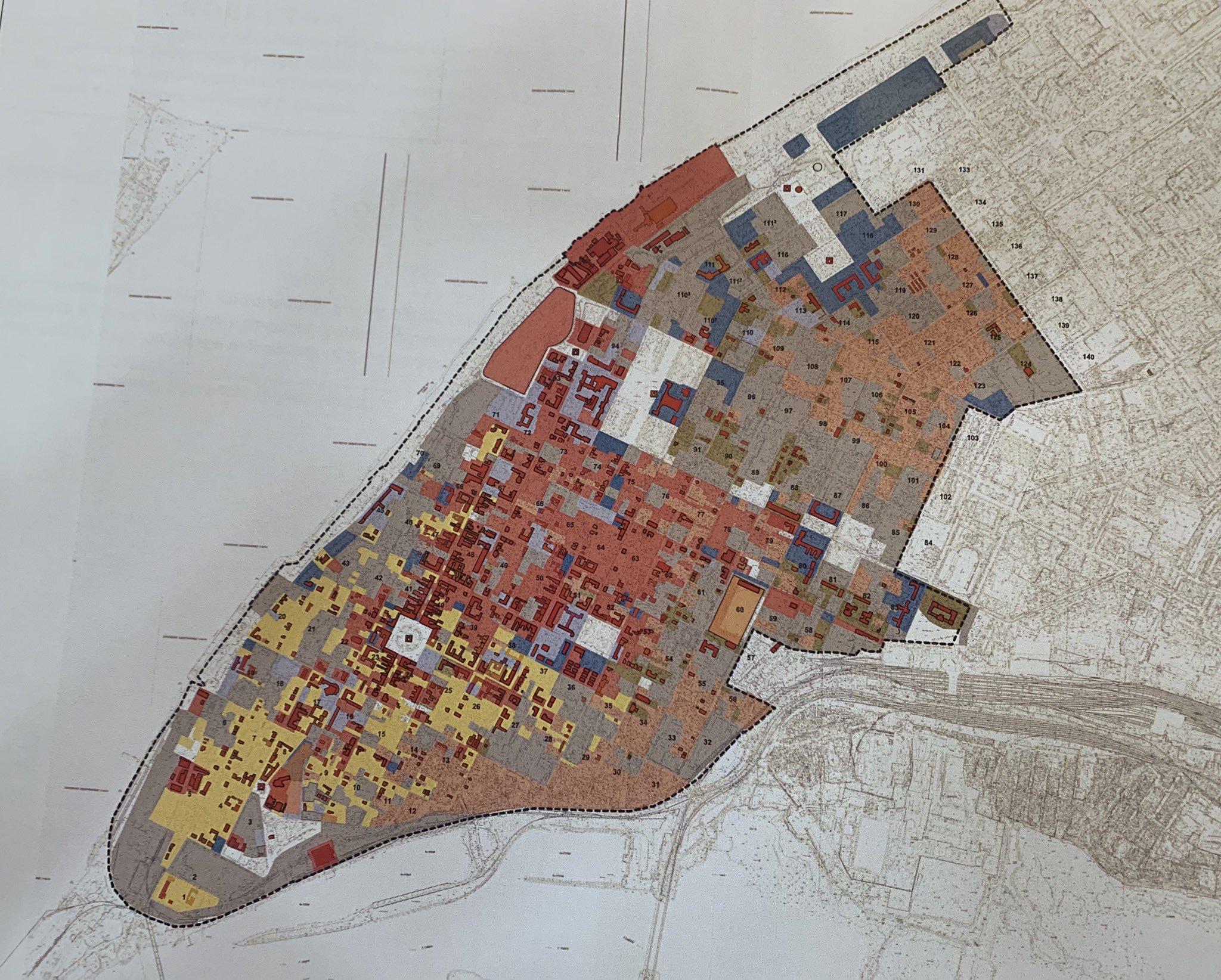 карта исторического поселения