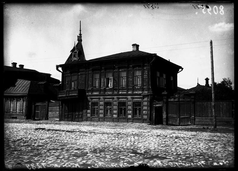 Дом, в котором арестовали Василия Арцыбушева