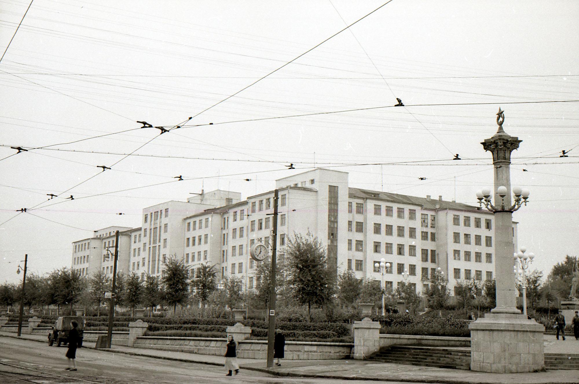 Дом сельского хозяйства в 1950-х годах